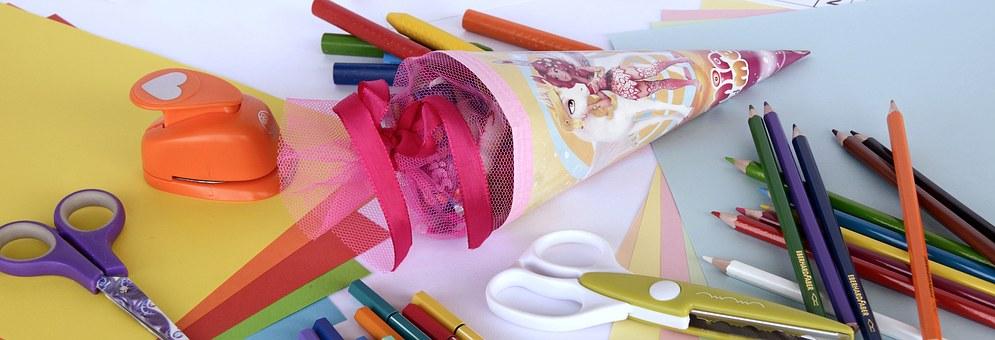 papelería online - colores